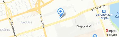 Монтажлегмаш на карте Алматы