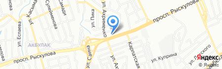 Tecnotrade на карте Алматы