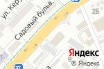 Схема проезда до компании Эйкос в Алматы