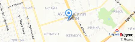 МЕЙРАМ на карте Алматы