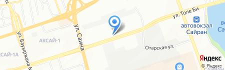 Юлос на карте Алматы