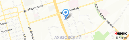 Фиеста на карте Алматы