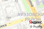 Схема проезда до компании Мастерская Крупеня в Алматы