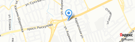 Orion на карте Алматы