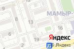 Схема проезда до компании Алтай-Стом в Алматы