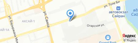 БАРС на карте Алматы