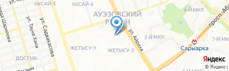 Наутилус на карте Алматы