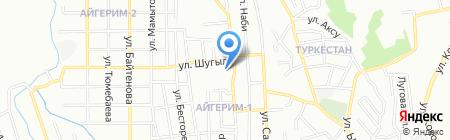 Общеобразовательная школа №171 на карте Алматы