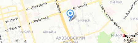 74 на карте Алматы