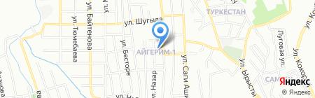 Мадияр продовольственный магазин на карте Алматы