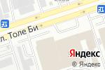 Схема проезда до компании B.I.G. Engineering в Алматы