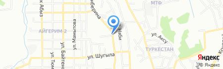 1000 мелочей магазин хозяйственных товаров на карте Алматы