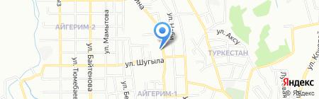 АСКЕР-АТА на карте Алматы