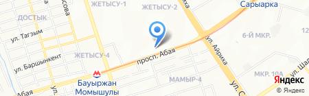 Altymade на карте Алматы