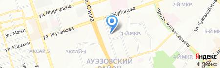 Айгерим продуктовый магазин на карте Алматы