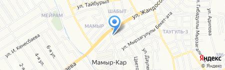 Nurdaulet football & fitness на карте Алматы