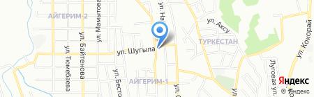 Мастерская по ремонту одежды на ул. Ленина на карте Алматы