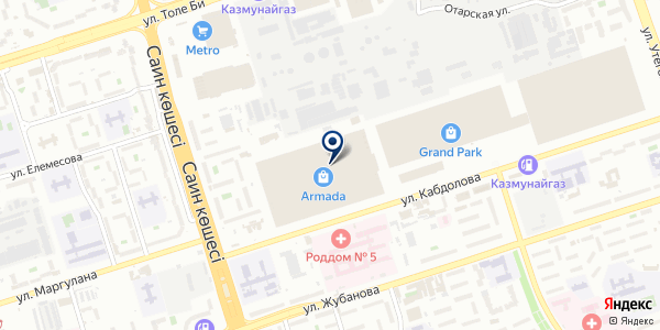 Жана Жихаз на карте Алматы