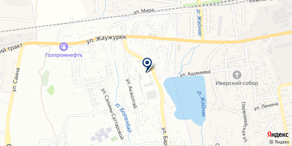 BST Wood на карте Алматы