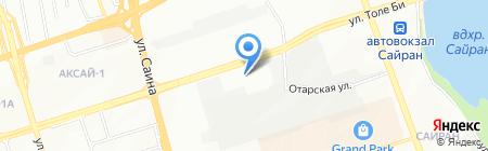 АвтоТрейд на карте Алматы