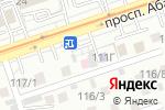 Схема проезда до компании Старый Баку в Алматы