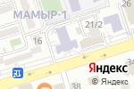 Схема проезда до компании Казахский университет путей сообщения в Алматы
