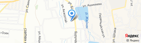Диана на карте Боралдая
