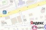 Схема проезда до компании Давайте потанцуем в Алматы