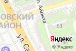 Схема проезда до компании Корс в Алматы