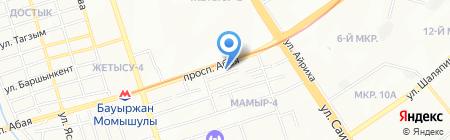 EDTECH-KZ на карте Алматы