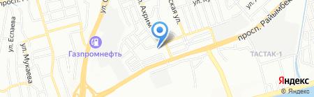 Общеобразовательная школа №82 на карте Алматы