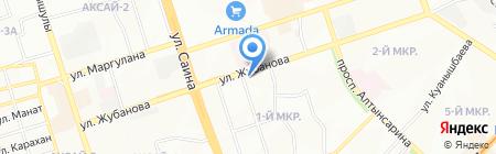 Багира на карте Алматы