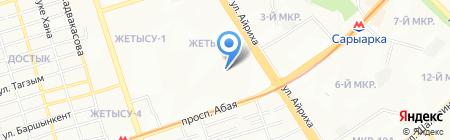 Ночной дозор на карте Алматы
