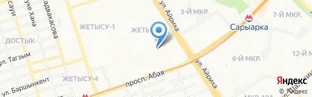 Dosstar на карте Алматы