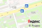 Схема проезда до компании Люция в Алматы