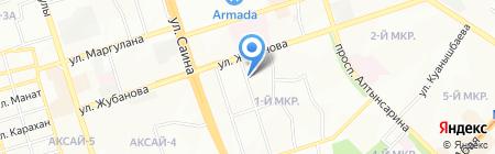 Vestiti на карте Алматы