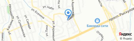 InStore.kz на карте Алматы