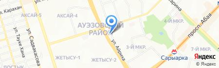 Корс на карте Алматы