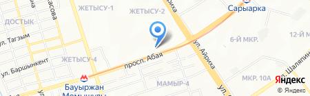 Жилстройсбербанк Казахстана на карте Алматы