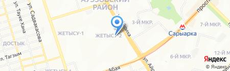 Diamond на карте Алматы
