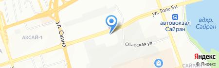 КазТехАрматура на карте Алматы