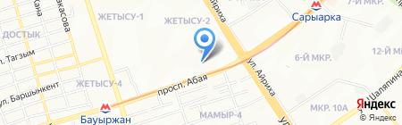 Арман продуктовый магазин на карте Алматы
