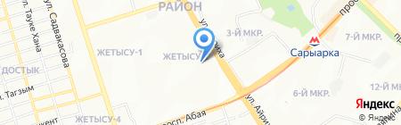 Деликатесы на карте Алматы