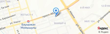 Namir на карте Алматы