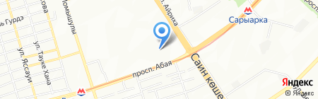 Алматы Азык на карте Алматы