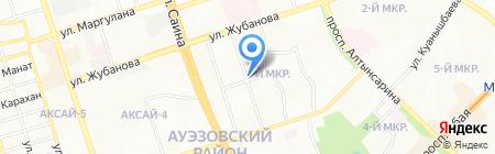 Нуртал на карте Алматы