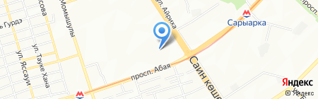 SKADA LC на карте Алматы