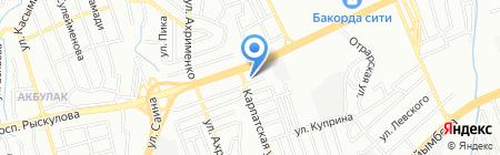 NEOCAR на карте Алматы