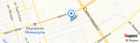 MAB на карте Алматы