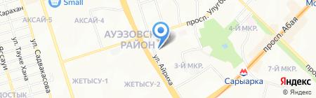Микс Март на карте Алматы